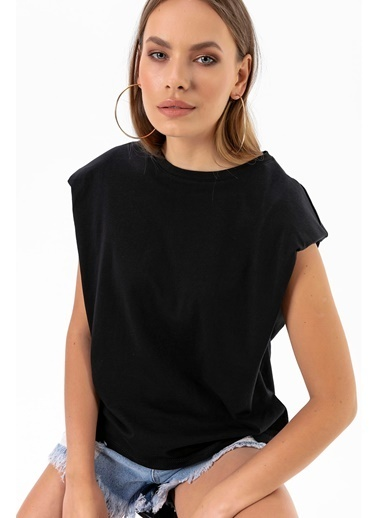Emjey Fırsat Ürünü-Vatkalı T-Shirt Siyah